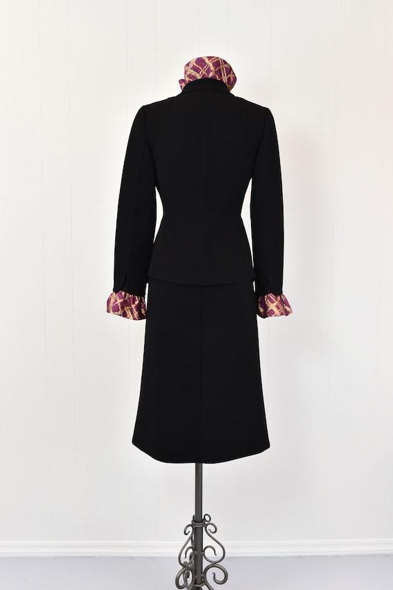 1980s Pauline Trigere Two Piece Suit - image 7