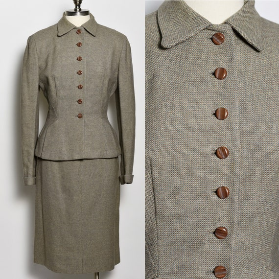 1940's Tweed Suit Set