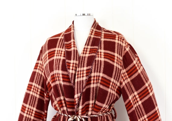 1940s Beacon Plaid Robe/Overcoat - image 3