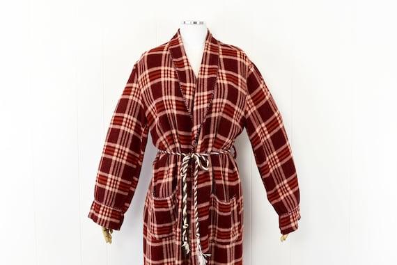 1940s Beacon Plaid Robe/Overcoat - image 2