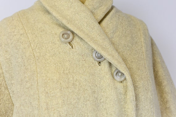 1940's Oatmeal Wool Coat - image 3