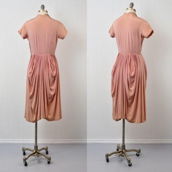 1940s Pink Ceil Chapman Dress - image 3