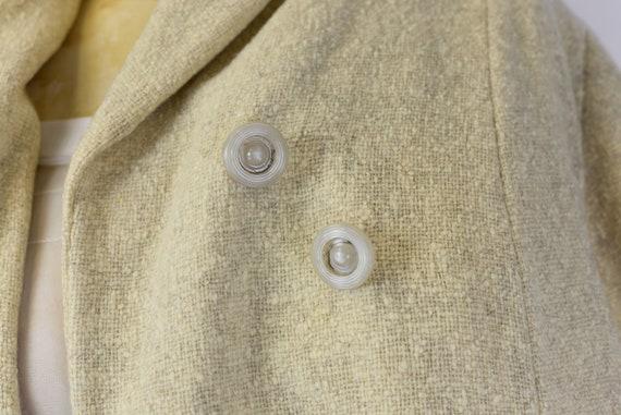 1940's Oatmeal Wool Coat - image 8