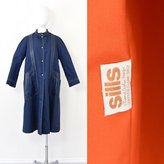 1960s Sills by Bonnie Cashin Blue Coat