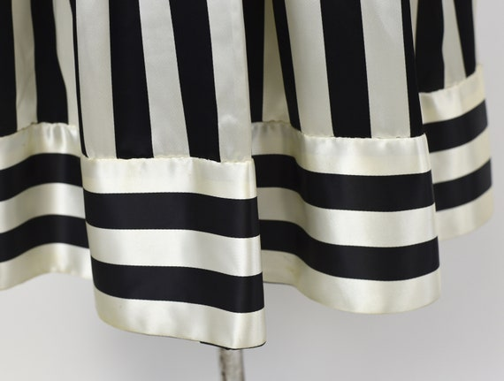 1970s Victor Costa Striped Dress Gown - image 7