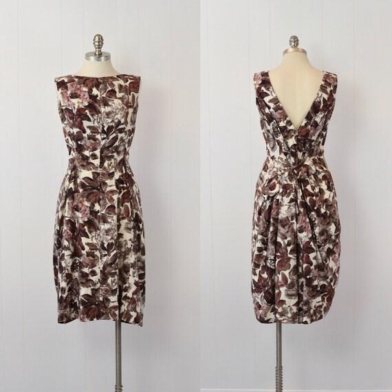 1950's Suzy Perette Floral Dress