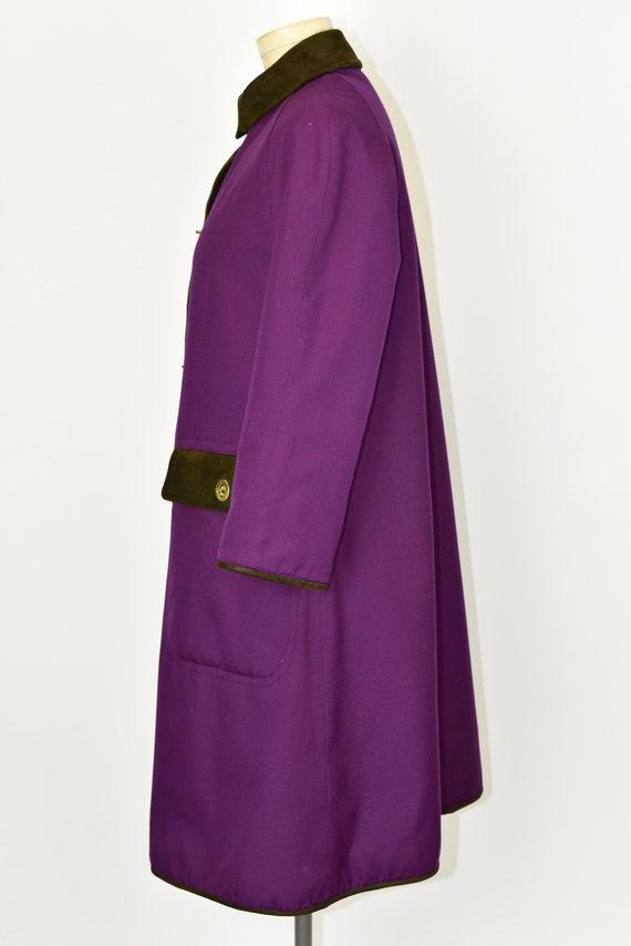 1960's Sills by Bonnie Cashin Purple Coat - image 4