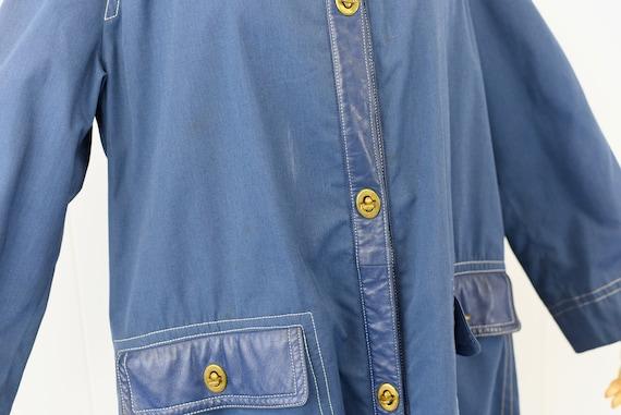 1960's Sills by Bonnie Cashin Blue Coat - image 8