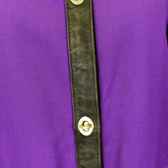 1960's Sills by Bonnie Cashin Purple Coat - image 6