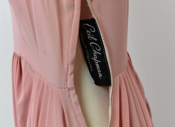 1940s Pink Ceil Chapman Dress - image 4