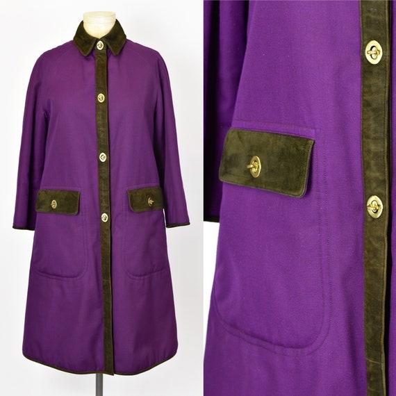 1960's Sills by Bonnie Cashin Purple Coat - image 1