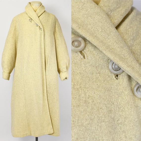 1940's Oatmeal Wool Coat - image 1