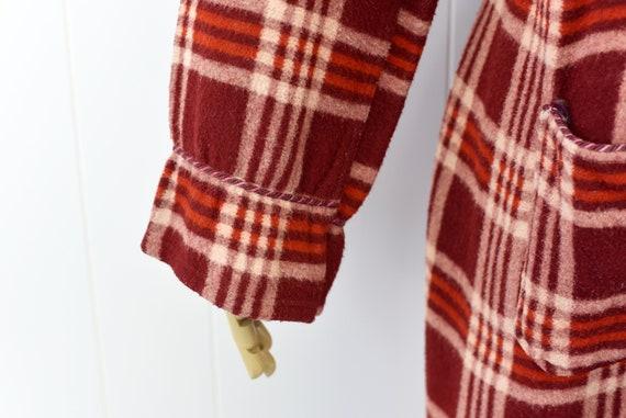 1940s Beacon Plaid Robe/Overcoat - image 8