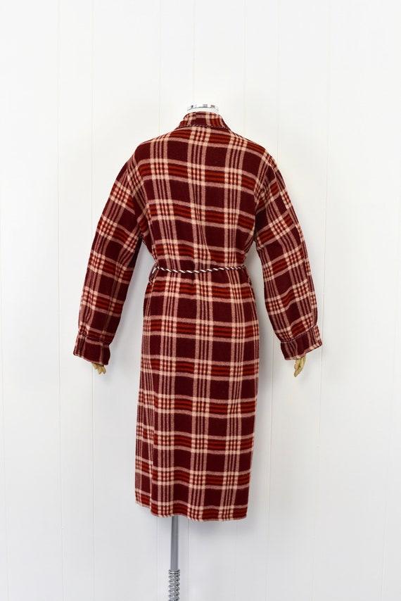 1940s Beacon Plaid Robe/Overcoat - image 5