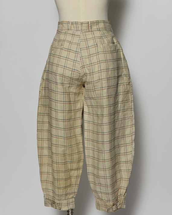 1930's/1940's Plaid Jodhpur Pants - image 3