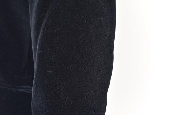 1970s Yves Saint Laurent Black Velvet Jacket - image 9