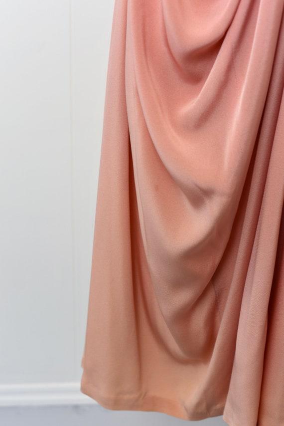 1940s Pink Ceil Chapman Dress - image 10