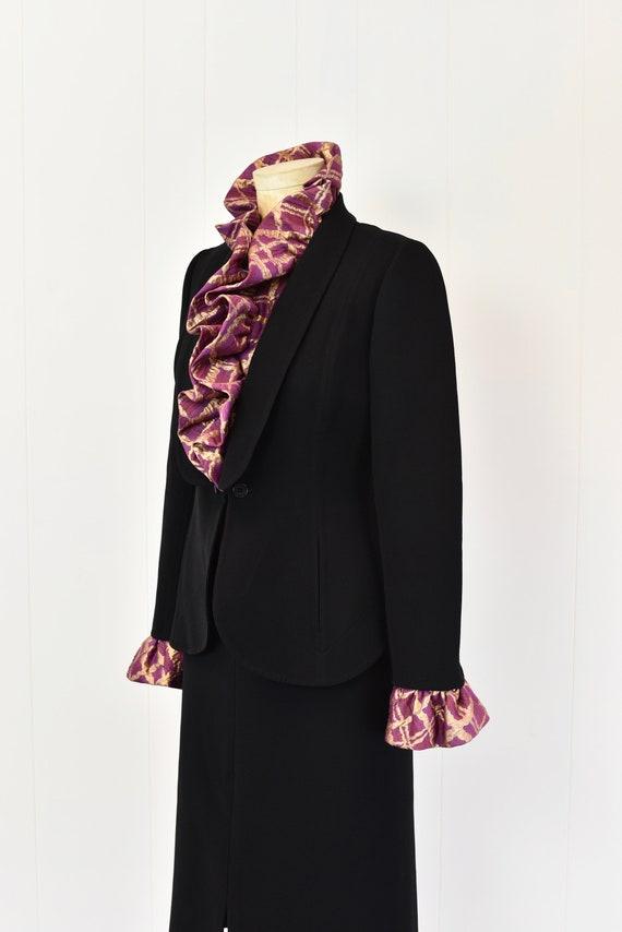 1980s Pauline Trigere Two Piece Suit - image 6