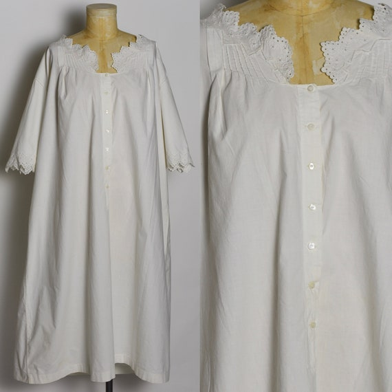 Antique 1900's White Nightgown
