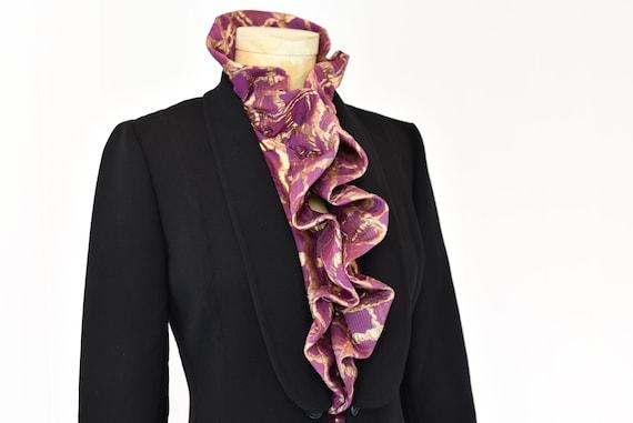1980s Pauline Trigere Two Piece Suit - image 4