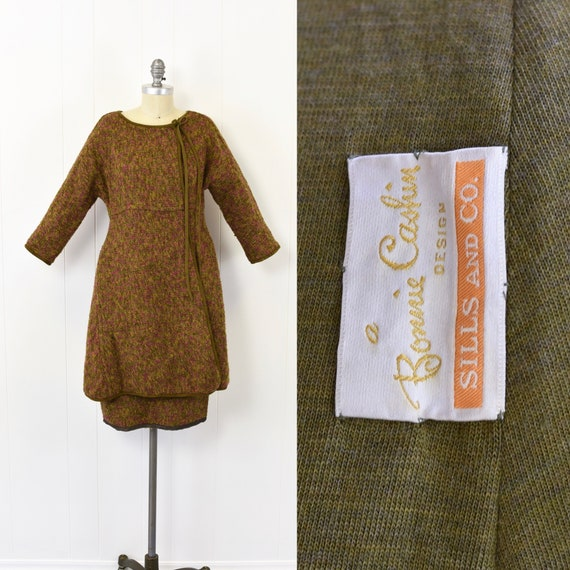 1960's Bonnie Cashin 2 Piece Skirt Set