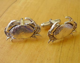 Crab Cufflinks