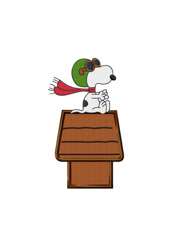 Red Baron Snoopy...Instant Download.....Pattern Fill Machine Embroidery DESIGN NO. 533        Update your settings