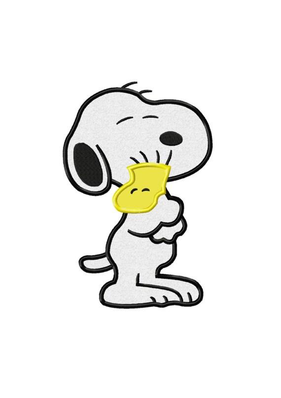 Snoopy y amigo... Descarga inmediata... Máquina de bordado | Etsy