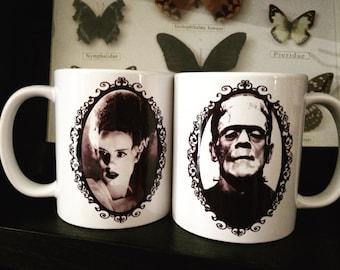 Frankenstein Coffee Mug Set