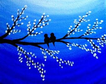 Love Birds Quote Etsy