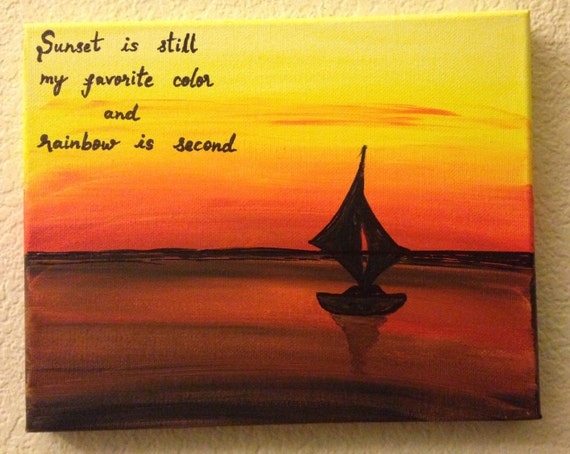 sunset art sunset quotes canvas quotes canvas quote painting
