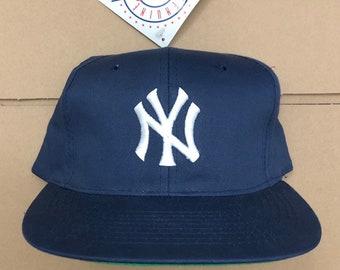 5d67dfab153c74 Vintage deadstock New York yankees snapback hat baseball cap World Series  champions jeter 90s NY ds mlb snap back