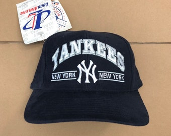 50500591aeb8d Vintage deadstock New York yankees snapback hat baseball cap World Series  champions jeter 90s NY ds mlb snap back logo athletic
