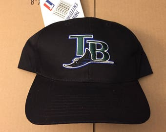 Vtg deadstock Tampa Bay Devil Rays snapback hat cap MLB 90s 80s ds nwt  vintage great fit snap back World Series bucs TB 1981df244d88