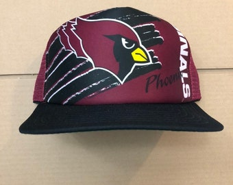 e0b3dddb538c Vintage deadstock arizona cardinals snapback trucker hat phoenix cap 90s  jersey logo new era nfl cards