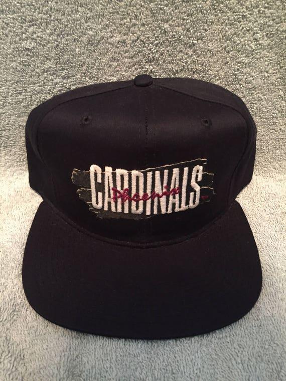 fa24a1666473 Vintage deadstock arizona cardinals snapback hat phoenix cap