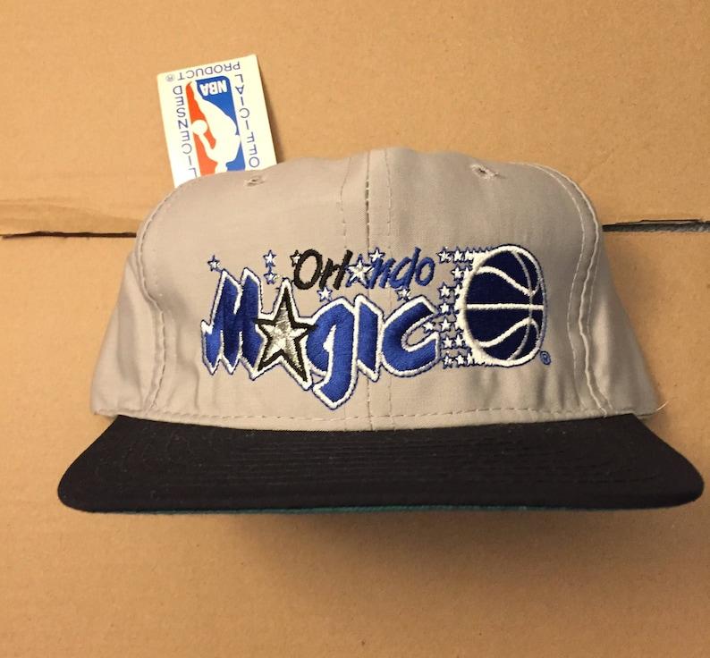 vintage deadstock orlando magic snapback hat 90s jersey logo shaq OG 90s  nba pen... vintage deadstock orlando magic snapback hat 90s jersey logo  shaq OG 90s ... b312d1f64