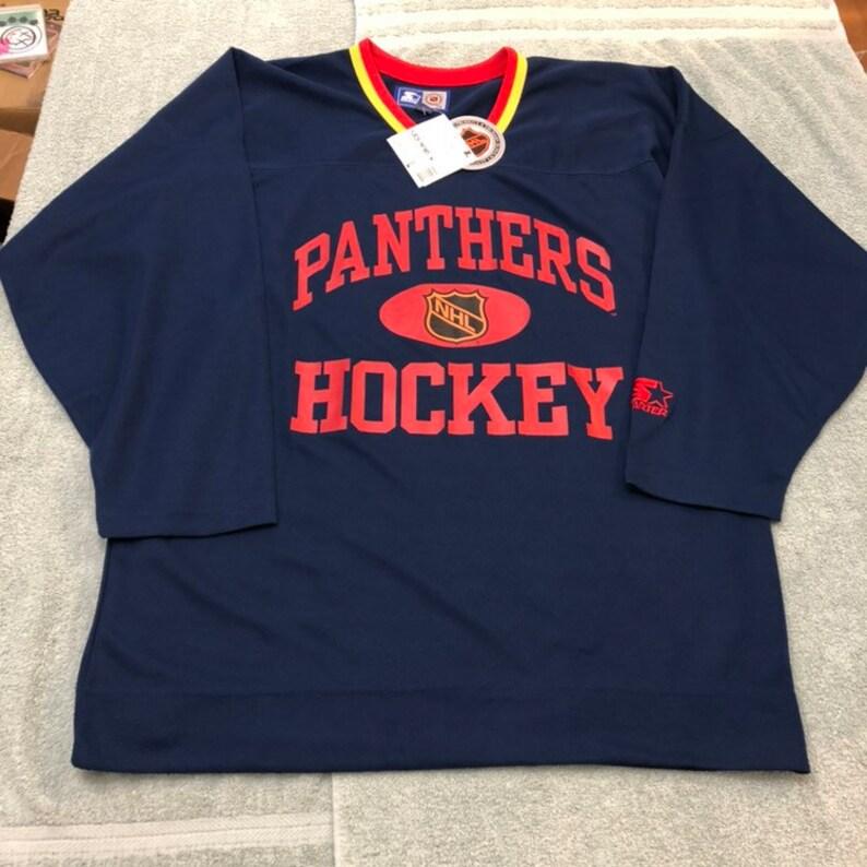 8f0216674 Vintage deadstock Florida Panthers starter jersey hockey nhl