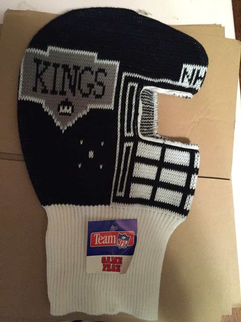 b842f68b1ae Vintage deadstock LA Kings Los Angeles winter game face ski