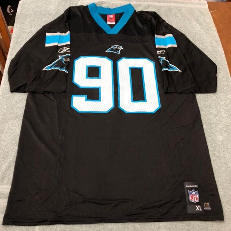 official photos 33cc1 eea66 Vintage Julius Peppers Carolina Panthers nfl jersey reebok size xl extra  large