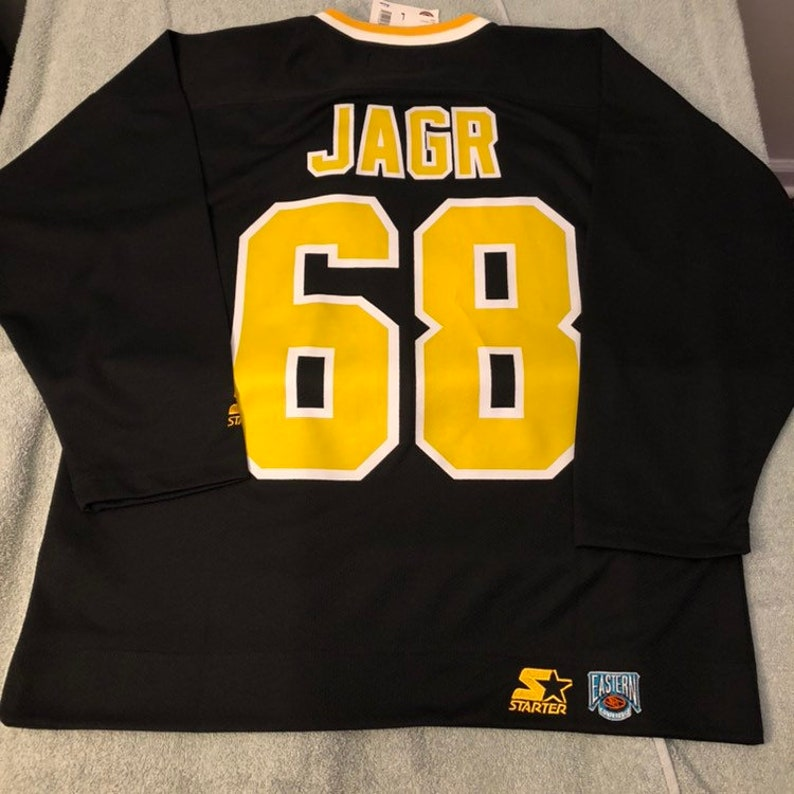 new product e22e3 a4dfc Vintage NWT Jaromir Jagr Pittsburgh Penguins starter jersey size xl xlarge  crosby nhl hockey shirt Pens