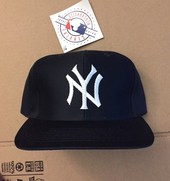 brand new d4867 dd352 ... world series new era 59fifty fitted patch 82bbb 6a1ee  cheap vintage  deadstock new york yankees snapback hat baseball cap etsy 82687 3d324