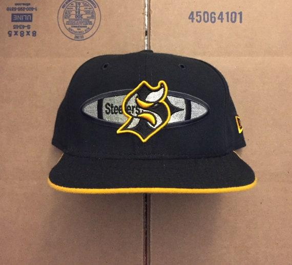73d6964144b vintage deadstock pittsburgh steelers snapback hat cap 90s