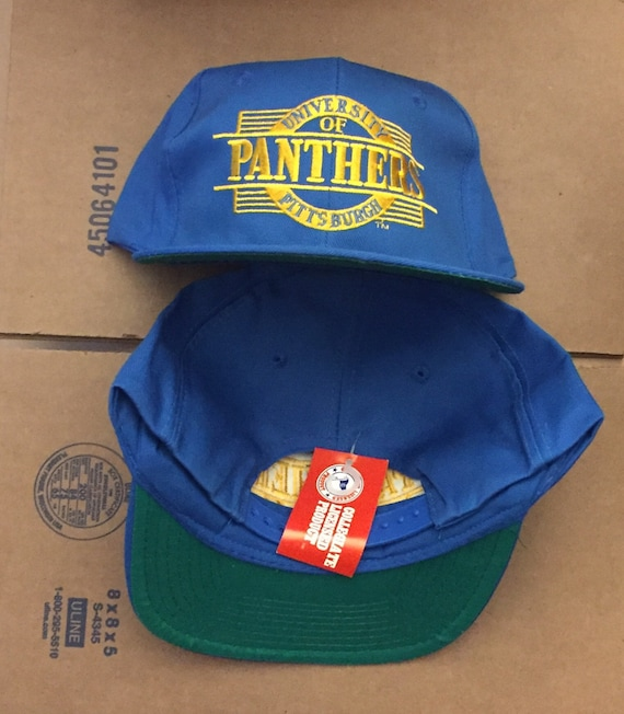 vintage deadstock university of Pittsburgh Panthers snapback  f4556ffb3