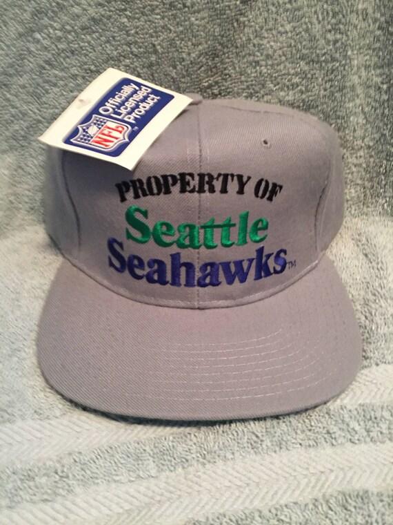 Vintage deadstock Seattle Seahawks snapback hat ca