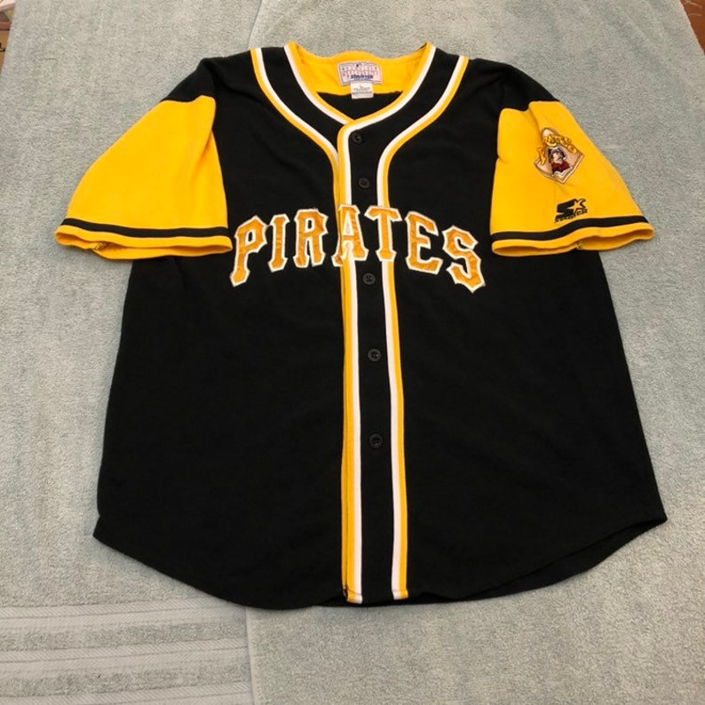5837dcf8 Vintage 90s starter Pittsburgh Pirates baseball Jersey hat | Etsy
