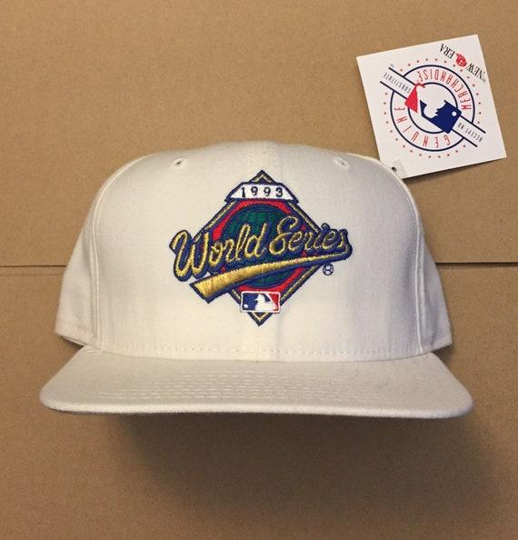 Vintage deadstock 1993 World Series snapback hat cap toronto  4091ddcb840a