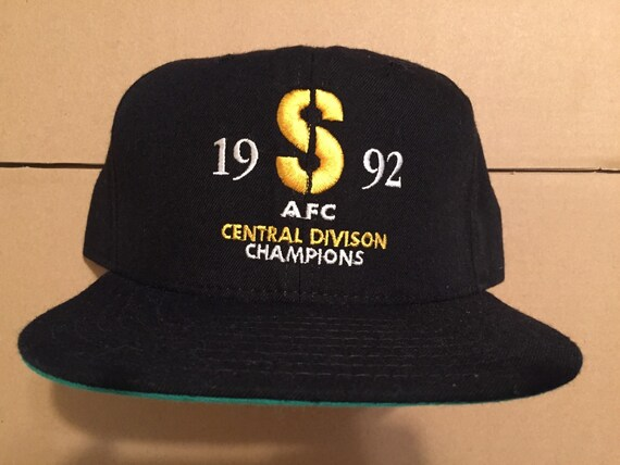 Vintage deadstock pittsburgh steelers 1992 afc central champs  10d3fc0b0