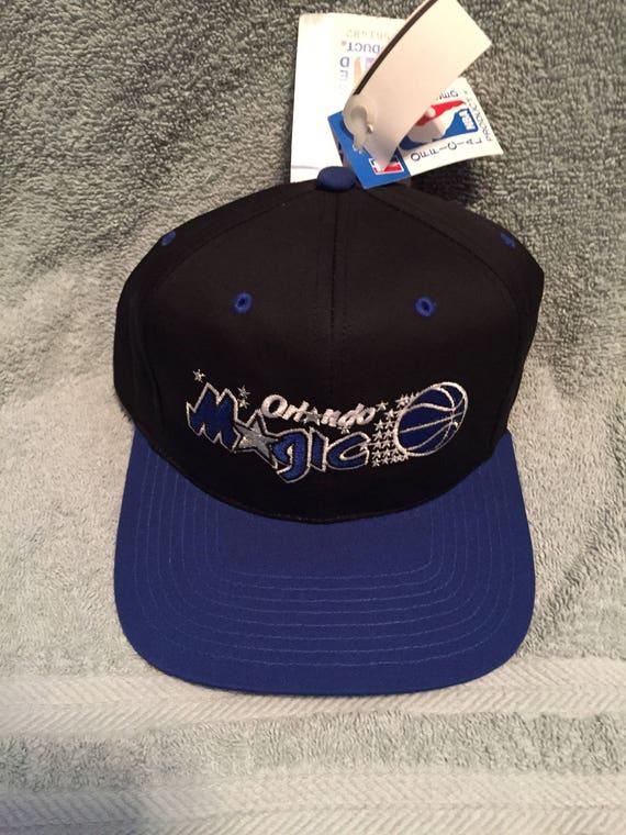 510b2822 ... real vintage deadstock orlando magic snapback hat 90s jersey logo etsy  1a5a0 5e088