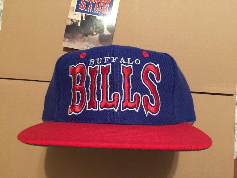 d9013d0f Vintage deadstock buffalo bills snapback hat cap 90s jersey logo nfl sabres  80s prosona
